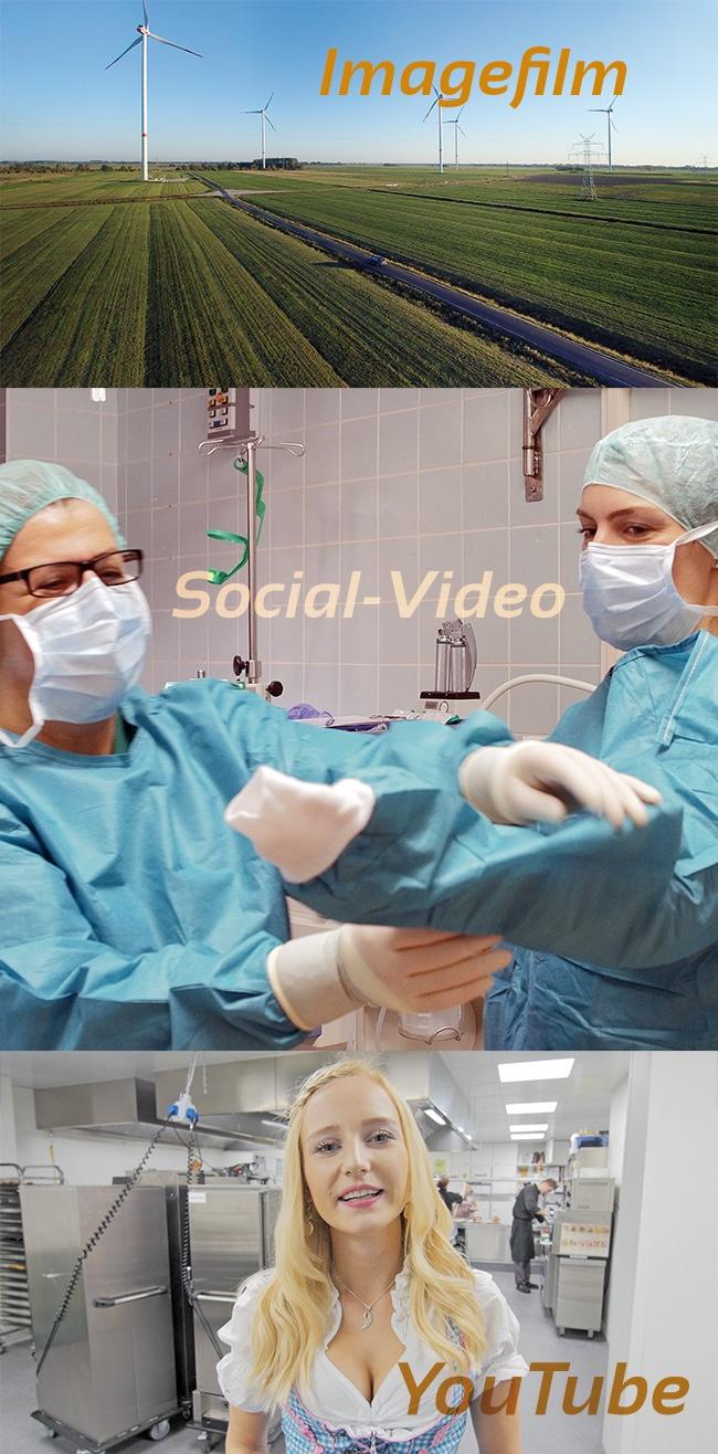 FAQ, Videoproduktion wie Imagefilm, und Youtube Social Video